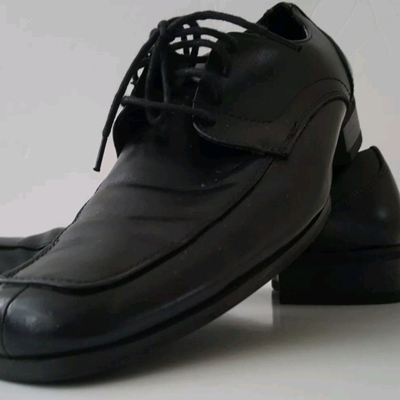 363be10603c Steve Madden 809 Mens Evollve Black Leather Sz 8